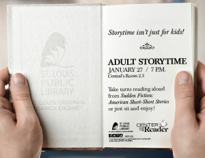 14842 ADULT STORYTIME SIGN_JAN
